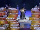Brazilian singer BNegao performs during the closing ceremony of the London 2012 Olympic Games at the Olympic Stadium August 12, 2012. PHOTO: REUTERS/FILE.