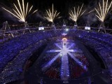 Fireworks explode during the closing ceremony of the London 2012 Olympic Games at the Olympic Stadium August 12, 2012. PHOTO: REUTERS/FILE.