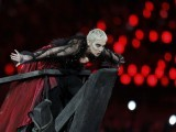 Singer Annie Lennox performs during the closing ceremony of the London 2012 Olympic Games at the Olympic Stadium August 12, 2012. PHOTO: REUTERS/FILE.