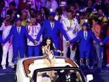Singer Jessie J performs during the closing ceremony of the London 2012 Olympic Games at the Olympic Stadium August 12, 2012. PHOTO: REUTERS/FILE.