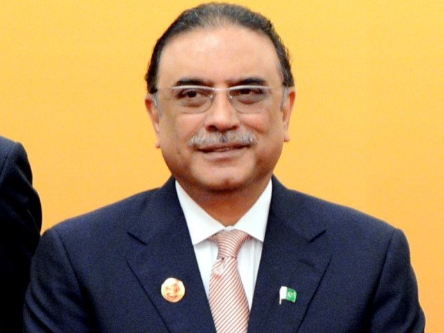 President Zardari to confer awards to 192 recipients on March 23, 2013. PHOTO: AFP
