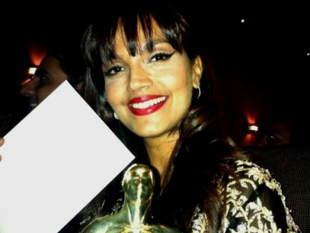 Aamina Sheikh won the award for Best Actress in a Leading Role. PHOTO: FACEBOOK