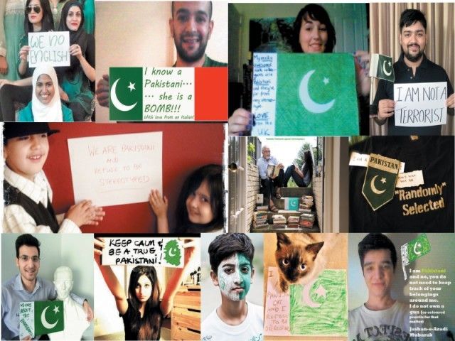 When Mehreen Kasana started her 'Pakistanis Against Stereotyping' campaign, she had no idea that a one-day campaign would become a full-fledged and continuing project! PHOTOS TAKEN FROM HTTP://PAKISTANISAGAINSTSTE