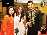 Annie, Annya and Ahsan Khan.PHOTO COURTESY SAVVY PR AND EVENTS