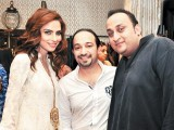Fauzia, Saad and Aamir.PHOTO COURTESY SAVVY PR AND EVENTS