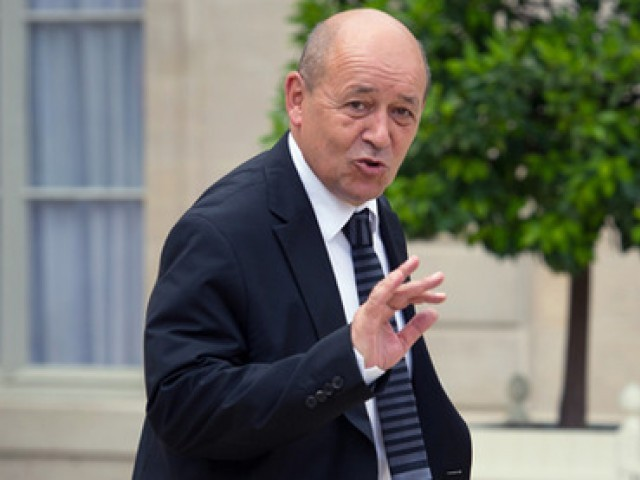 French Defence Minister Jean-Yves Le Drian. PHOTO: AFP/FILE