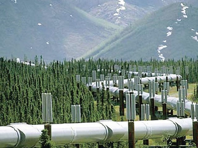 The project is expected to facilitate the import of 700 million cubic feet of gas every day through the 2,100-kilometre pipeline. PHOTO: FILE