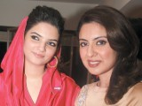 Amber and Sidra Iqbal.PHOTO COURTESY VOILA PR