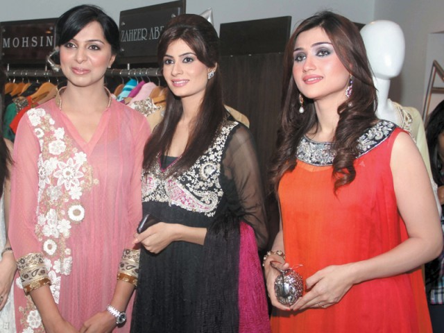 Uzma, Madiha and Jia.PHOTO COURTESY VOILA PR
