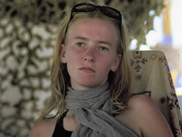 An undated handout photo of American activist Rachel Corrie released August 28, 2012. PHOTO: REUTERS