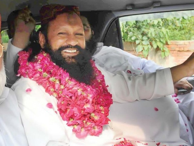 Head of banned Lashkar-e-Jhangvi had been released from jail in July 2011 on bail. PHOTO: NNI/FILE