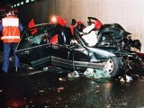 Picture of Lady Diana's Mercedes after the fatal accident. PHOTO: AFP