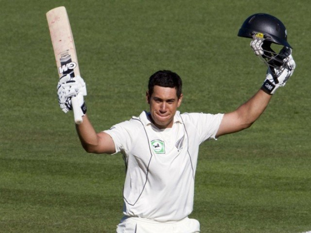 New Zealand captain Ross Taylor kept his promise of attacking India's spinners by smashing an entertaining hundred. PHOTO: AFP