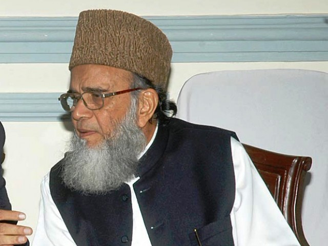 The Muslim youth must rise to defend their culture, says Munawar Hasan PHOTO: EXPRESS