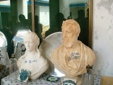 The seized artifacts include statues of British royal family members, muskets, badges, teacups and teapots, daggers, two Indian British passports and books on the history of Bahawalpur state. PHOTO: KASHIF ZAFAR / EXPRESS