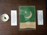 """This flag of your nation was carried to the moon aboard the Spacecraft America during the Apollo XVII mission, December 7-19, 1972."" PHOTO COURTESY NASA AND THE US CONSULATE GENERAL LAHORE"