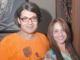 Babloo and Uzma. Lajwanti Luxury Prêt and Sonar Jewellers launch their retail store at Mall One in Lahore. PHOTO COURTESY SAVVY PR AND EVENTS