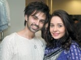 Hamza and Juggan Kazim. Little London Company launches in Lahore. PHOTO COURTESY BILAL MUKHTAR AND EVENTS