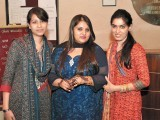 Mehreen, Samra and Rida. Destination Eventz organises a two-day Chaand Raat festival in Lahore. PHOTO COURTESY DESTINATION EVENTZ