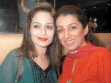 Mehreen and Shazia Gohar. Lajwanti Luxury Prêt and Sonar Jewellers launch their retail store at Mall One in Lahore. PHOTO COURTESY SAVVY PR AND EVENTS