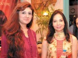 Rabia and Nina Akbar. Destination Eventz organises a two-day Chaand Raat festival in Lahore. PHOTO COURTESY DESTINATION EVENTZ