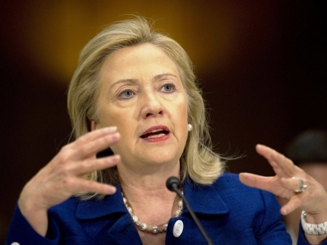 The US absolutely rejects content and message of the video, says Hillary Clinton. PHOTO: AFP/ FILE