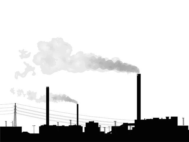 Industrialists should monitor their plants for emissions on a monthly basis, stated Ibadur Rehman, the deputy director of the Cleaner Production Institute.  PHOTO: CREATIVE COMMONS