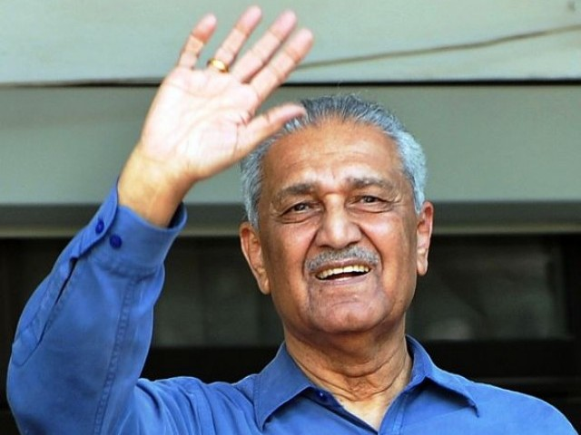 Dr Abdul Qadeer Khan has opened another debate about who was responsible for nuclear proliferation in Pakistan. PHOTO: FILE