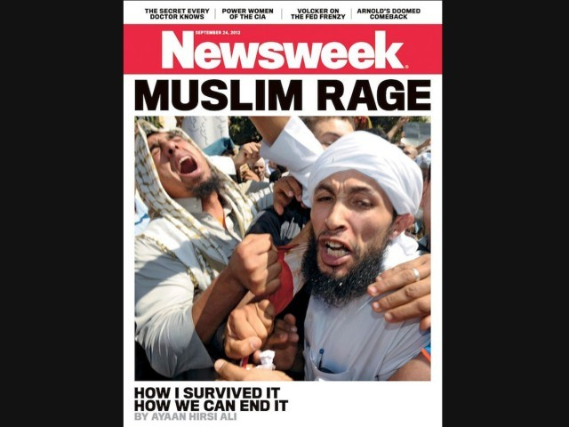 Newsweek's cover photo for the upcoming edition really got a reaction that they did not expect.