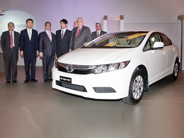Honda Launches New Civic In Pakistan The Express Tribune