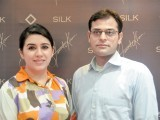 Maryam and Mustafa. Fawad Khan launches SILK, a ready-to-wear clothing brand, in Lahore. PHOTO COURTESY NASHIT NOOR OF NEAT PRODUCTIONS