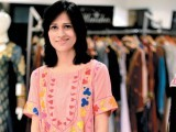 Sidra Saeed. The Designers holds a multi-designer fashion exhibition in Karachi.  PHOTO COURTESY VOILA PR