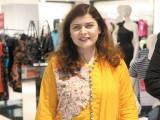 Tara Uzra Dawood. L'Oréal Paris launches 'The Gold Studio' at Debenhams in Karachi PHOTO COURTESY LOTUS PR