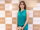 Wardha Saleem. L'Oréal Paris launches 'The Gold Studio' at Debenhams in Karachi PHOTO COURTESY LOTUS PR