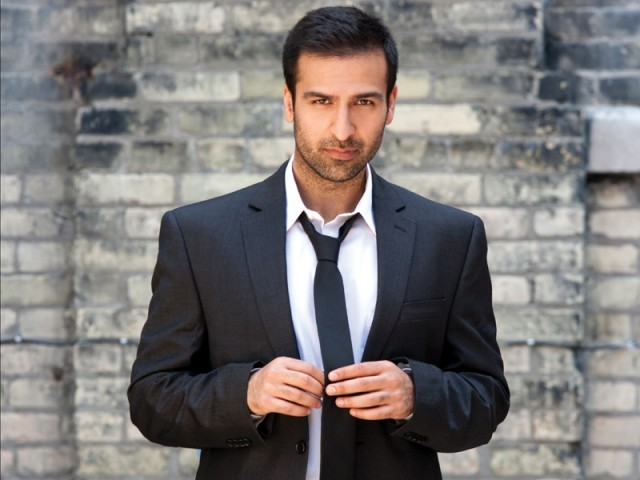 Pakistani-Canadian actor Saad Siddiqui is happy with the attention his villainous role in Inescapable has gained. PHOTO: FILE