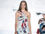 Diane Von Furstenberg print dress.