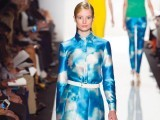 Michael Kors digital cloud print dress.