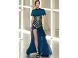 Rodarte midnight blue dress.