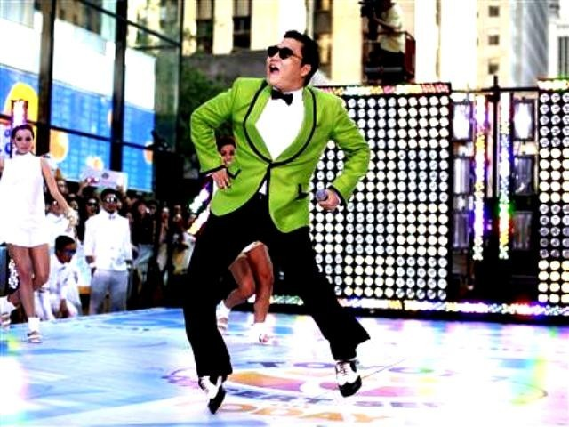 Gangnam Style mocks the rampant consumerism of a rich Seoul suburb. It went viral on video-sharing website Youtube. PHOTO: REUTERS