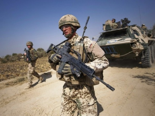 Nato has about 112,000 troops in a US-led coalition fighting an insurgency by Taliban. PHOTO: AFP/FILE