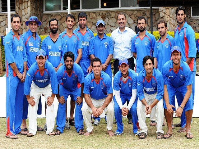 Many of the Afghan national team players learnt the game in Pakistan while living as refugees. PHOTO: FILE/AFP