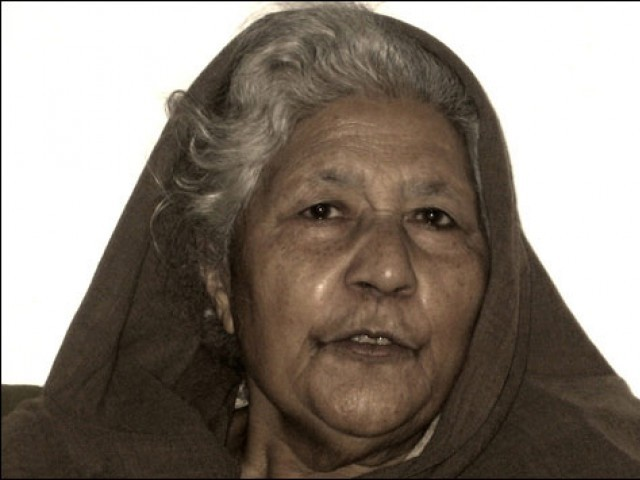 Noted short-story writer Bano Qudsia has been given the Kamal-e-Fun Award for 2010 by the Pakistan Academy of Letters. PHOTO: bbc.co.uk