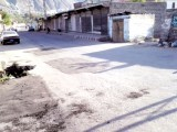 View of repairs made to roads in Gilgit on Thursday. PHOTO: THE EXPRESS TRIBUNE