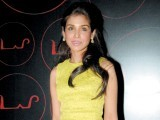 Niamat Bakshi donned a yellow dress for an event in New Delhi.