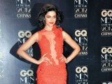 The hot and sultry Deepika graced the red carpet at the GQ Men of the Year Awards 2012 in a Gaurav Gupta scarlet lace gown.