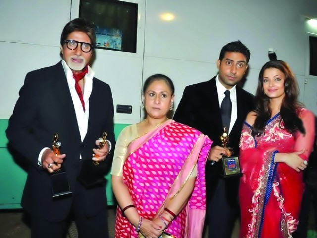 The biggest stars from the Indian film industry were present at the event. PHOTO: FILE