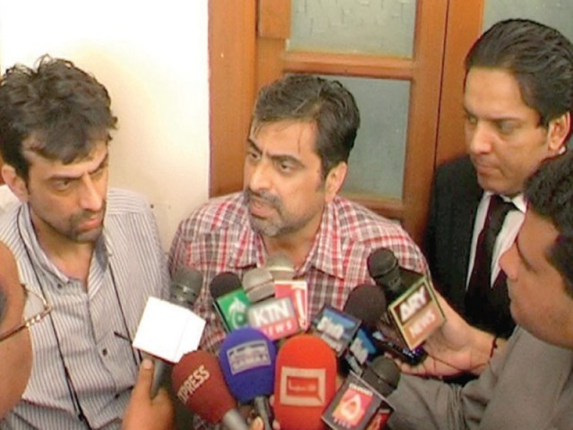 Owners Arshad Bhaila and Shahid Bhaila of Ali Enterprises speaking to the media in September. PHOTO: FILE
