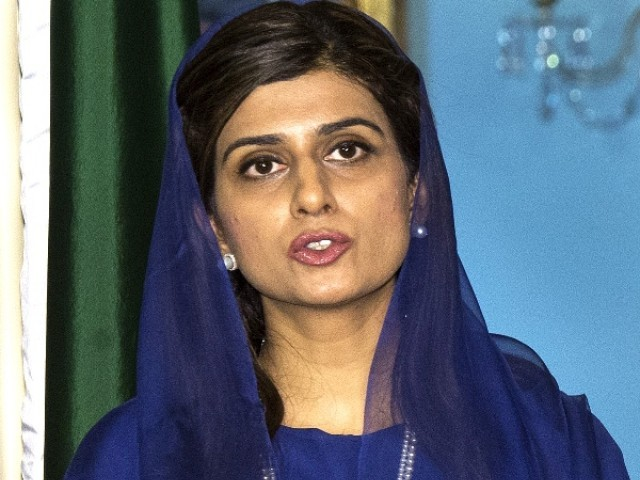 Foreign Minister Khar will present a national report at UNHRC moot next week. PHOTO: AFP