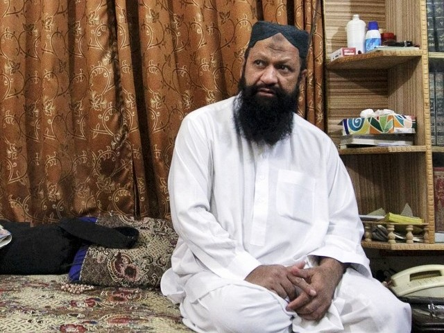 For an outlawed group accused of fomenting such mayhem, the leader of LeJ is surprisingly easy to find. PHOTO: REUTERS