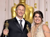 Academy Award winning film-maker and acid-burn survivor receive recognition for documentary Saving Face.